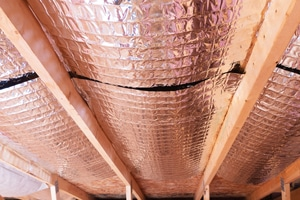 Reflective Radiant Heat Barriers In Attic